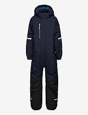 Polarn O. Pyret - Overall Padded Solid Preschool - snowsuit - dark sapphire - 0