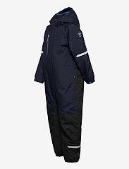 Polarn O. Pyret - Overall Padded Solid Preschool - snowsuit - dark sapphire - 3