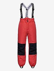 Polarn O. Pyret - Trousers PO.P Flexi-Size School - cayenne - 0
