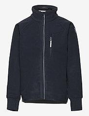 Polarn O. Pyret - Jacket Windfleece Solid - fleecejakke - dark sapphire - 0