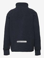Polarn O. Pyret - Jacket Windfleece Solid - fleecejakke - dark sapphire - 1