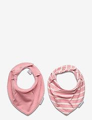 Polarn O. Pyret - BiB Striped Baby - slabbertjes - bridal rose - 0