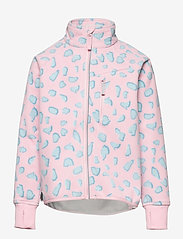 Polarn O. Pyret - Jacket Windfleece Solid - bovenkleding - rose shadow - 0