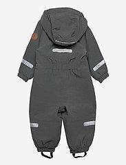 Polarn O. Pyret - Overall Shell Lined Preschool - softshells - gunmetal - 1