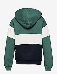 Polarn O. Pyret - Zip up l/s hood School - sweatshirts & hoodies - blue spruce - 1