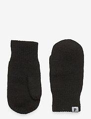 Polarn O. Pyret - Mitten Wool - uldtøj - black - 0