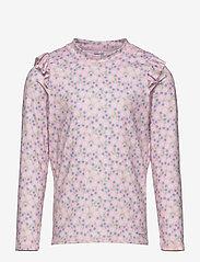 Polarn O. Pyret - Swimwear Top l/s UPF - koszulki - rose shadow - 0