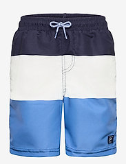 Polarn O. Pyret - Swimwear Pants Blocked - badehosen - dark sapphire - 0