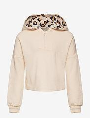 Polarn O. Pyret - Sweatshirt hood School - kapuzenpullover - mother of pearl - 0