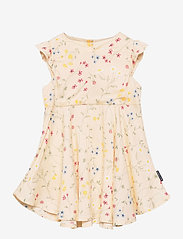 Polarn O. Pyret - Dress Woven AOP Preschool - kleider - mother of pearl - 0