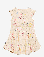 Polarn O. Pyret - Dress Woven AOP Preschool - kleider - mother of pearl - 1