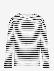 Polarn O. Pyret - Top l/s striped School - lange mouwen - dark sapphire - 0
