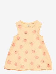 Polarn O. Pyret - Dress AOP Baby - kleider - impala - 0