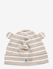 Cap Striped Baby - ECRU MELANGE