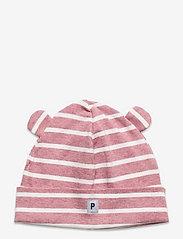Cap Striped Baby - PINK MELANGE