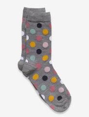 Polarn O. Pyret - Socks Wool Jaquard Preschool - skarpetki - greymelange - 1
