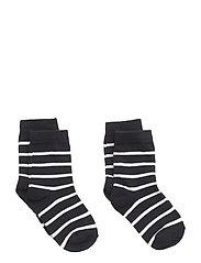 Polarn O. Pyret Socks 2-P PO.P Stripe Baby