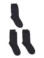 Socks 3-P Solid Preschool - DARK SAPPHIRE