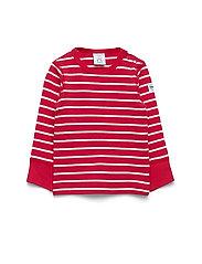 Polarn O. Pyret T-shirt l/s PO.P Stripe Baby - SKI PATROL