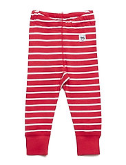 Polarn O. Pyret Long Johns PO.P Stripe Newborn - SKI PATROL