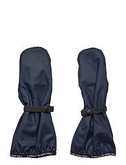 Waterproof rain mittens - DARK SAPPHIRE