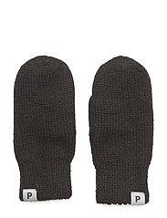 Mitten Wool Baby - BLACK