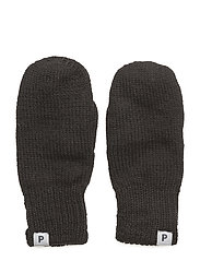 Mitten Wool Preschool - BLACK