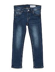 Jeans Slim Preschool - BLUE DENIM