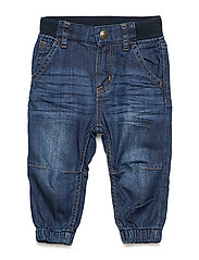 Trousers Woven Baby - BLUE DENIM