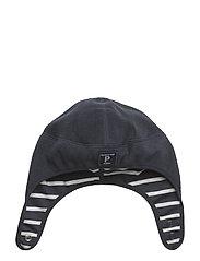 Wind Fleece Helmet Solid/PO.P Stripe Baby - DARK SAPPHIRE