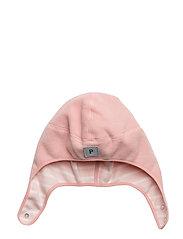 Wind Fleece Helmet Solid/PO.P Stripe Baby - MELLOW ROSE