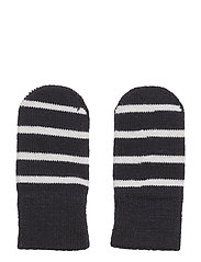 Mitten Wool PO.P Stripe Newborn