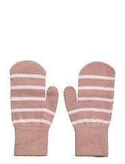 Mitten Wool PO.P Stripe - MELLOW ROSE