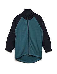 Zip Up Woolterry Baby - COLONIAL BLUE