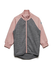 Zip Up Woolterry Baby - MELLOW ROSE