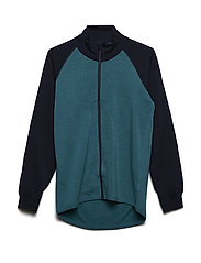 Zip Up Woolterry School - COLONIAL BLUE