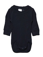 Body Wool Solid Newborn - DARK SAPPHIRE