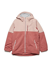Jacket Shell Solid School - FADED ROSE