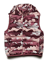West Padded AOP - FADED ROSE