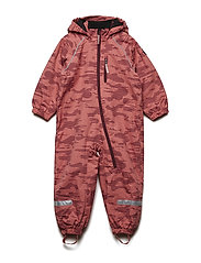 Overall Shell AOP Lined PreSchool - FADED ROSE