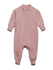 Overall Solid Wool Newborn - MELLOW ROSE