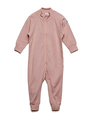 Overall Solid Wool Baby - MELLOW ROSE