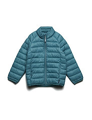 Jacket Padded Solid PreSchool - BRISTOL BLUE