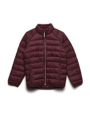 Jacket Padded Solid School - TAWNY PORT