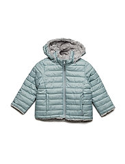 Jacket Padded Solid PreSchool - GRAY MIST