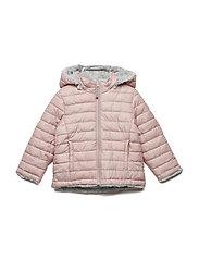 Jacket Padded Solid PreSchool - MELLOW ROSE