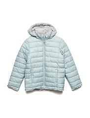 Jacket Padded Solid School - GRAY MIST