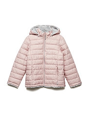 Jacket Padded Solid School - MELLOW ROSE