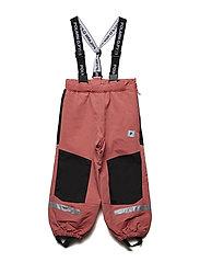 Trousers Shell w Suspendors PreSchool - FADED ROSE