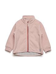 Jacket Windfleece Solid Baby - MELLOW ROSE